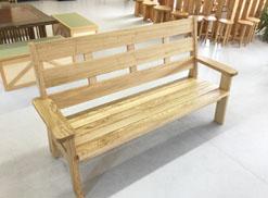 N様邸 栗の木のベンチ